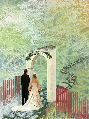 Journey Of Marriage Poster by Arlissa Vaughn