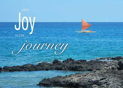 Joy In The Journey Poster