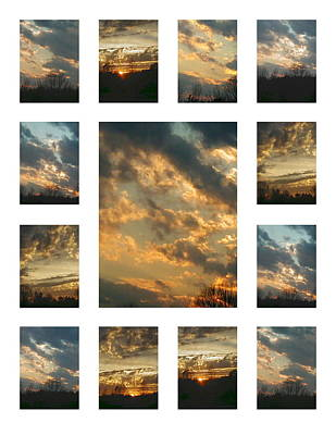Joy In The Skies  Poster by Robin Coaker