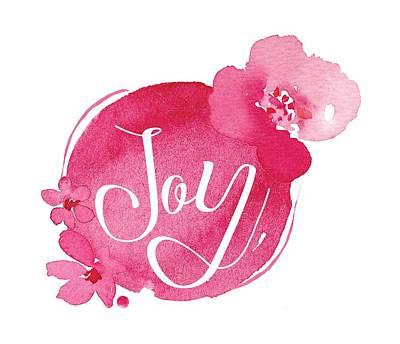 Joy Poster by Nancy Ingersoll
