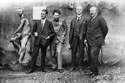 Joyce, Pound, Quinn & Ford Poster by Granger