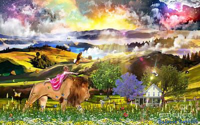 Joyful Journey  Poster by Dolores Develde