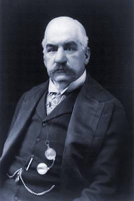 J.p. Morgan 1837-1913 American Banker Poster by Everett