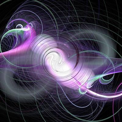 Jpk Digital Abstract 001 Poster
