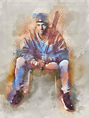 Jr. Poster by Carter Jones