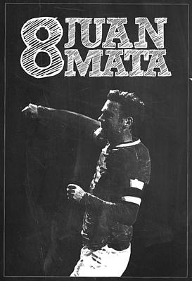 Juan Mata Poster