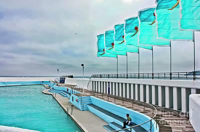Jubilee Pool Penzance Poster by Terri Waters
