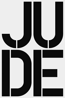 Jude Poster by Three Dots