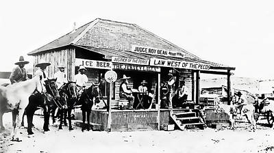 Judge Roy Bean - Texas Poster