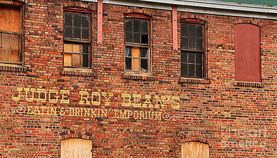 Judge Roy Bean's 1204 Poster