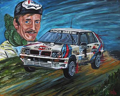 Juha Kankkunen Poster by Jose Mendez