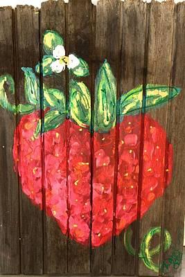 Juicy Berry Poster by Doralynn Lowe
