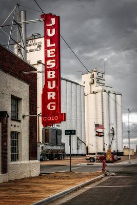 Julesburg Colorado Poster by Mountain Dreams