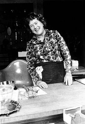 Julia Child, Ca. Early 1970s Poster