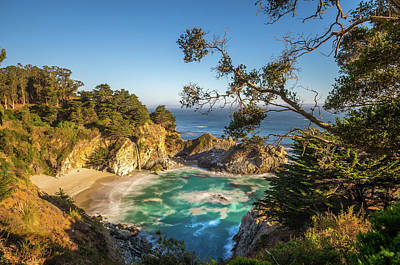 Julia Pfeiffer Burns State Park California Poster