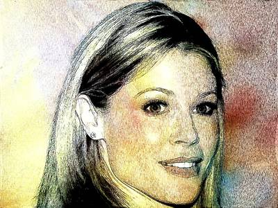 Julie Bowen Portrait Poster by Best Actors