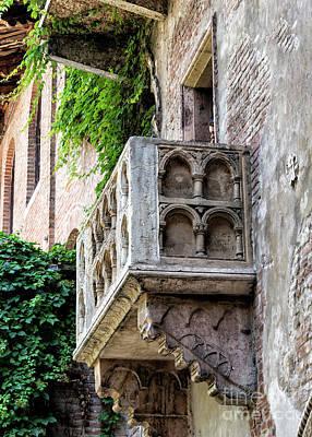 Juliet Capulet's Balcony Poster