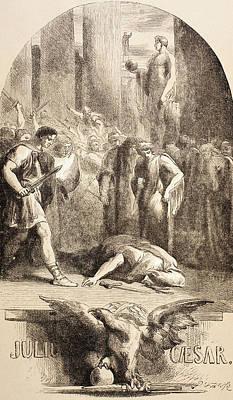 Julius Caesar Poster by John Gilbert
