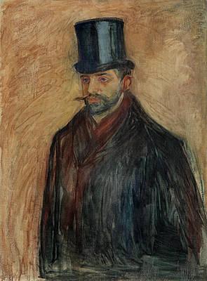Julius Meier-graefe Poster by Edvard Munch