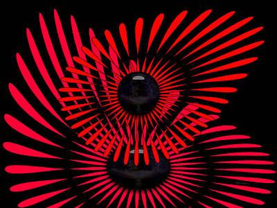 Poster featuring the digital art July by Robert Orinski