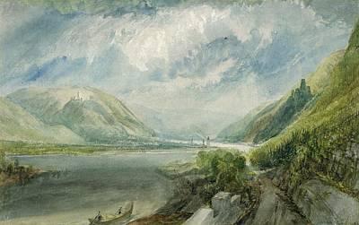 Junction Of The Lahn Poster