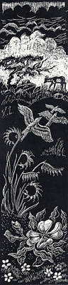 June In The Cedar Breaks Poster by Dawn Senior-Trask