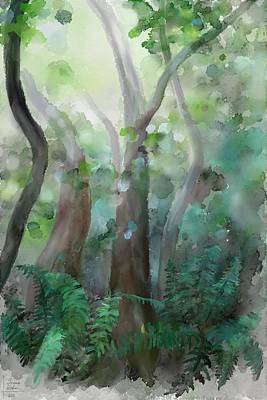 Poster featuring the painting Jungle by Ivana Westin