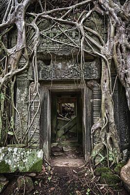 Jungle Temple Door #1 Poster