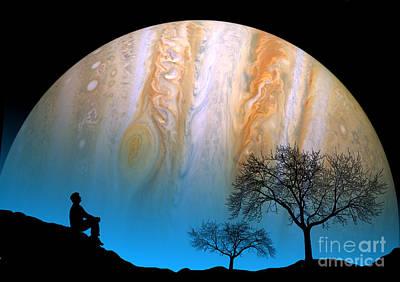 Jupiter Poster by Larry Landolfi
