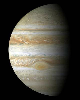 Jupiter Mosiac Poster by Stocktrek Images