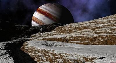 Jupiter Rise Poster