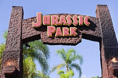 Jurassic Park Entrance Poster