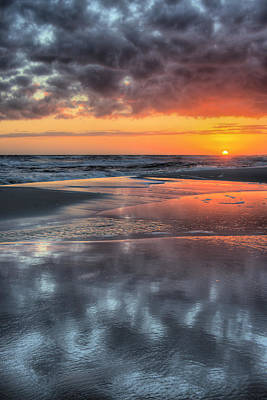 Just Another South Baldwin Sunset Poster by JC Findley