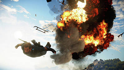 Just Cause 3                    Poster by F S