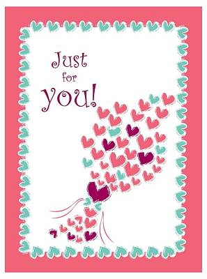 Just For You Poster by Hye Ja Billie