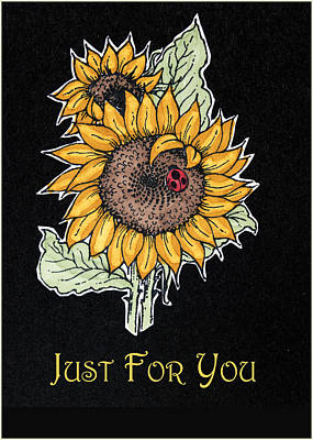 Just For You Poster by Jon Berghoff