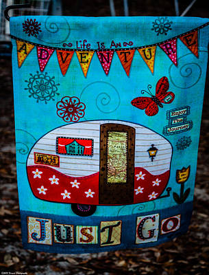 Just Go  Poster by Debra Forand