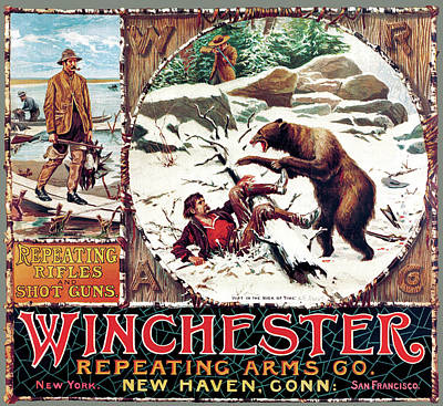 Poster featuring the painting Just In The Nick Of Time by A B Frost