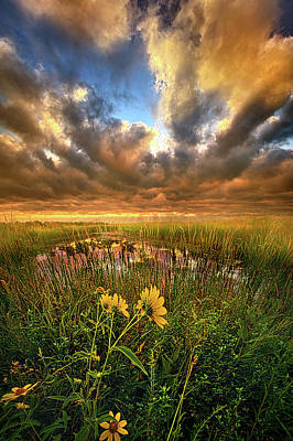 Just Moving Slow Poster by Phil Koch