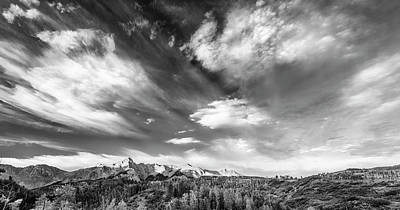 Just The Clouds Poster by Jon Glaser