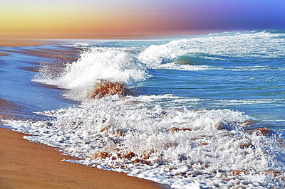 Just Waves By Kaye Menner Poster by Kaye Menner