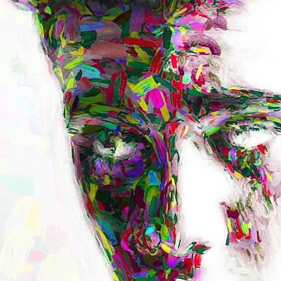 #justinbieber @justinbieber Poster by David Haskett