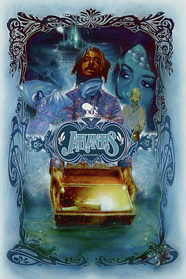 K-os Atlantis Hymns For Disco Poster by Nelson Garcia