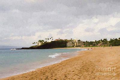 Kaanapali Beach Poster