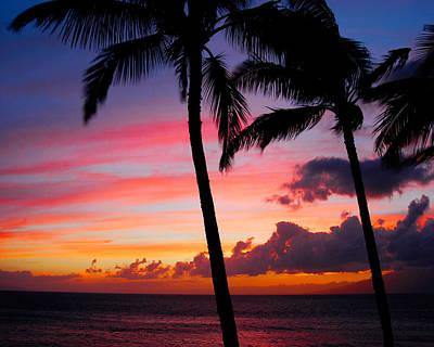 Kaanapali Sunset  Kaanapali  Maui Hawaii Poster