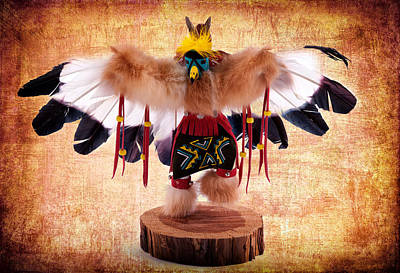 Kachina Doll No 402 Poster by James Bethanis