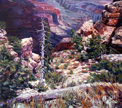 Kaibab Trail Poster by Donald Maier