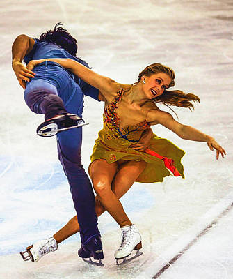 Kaitlyn Weaver And Andrew Poje Poster by Don Kuing
