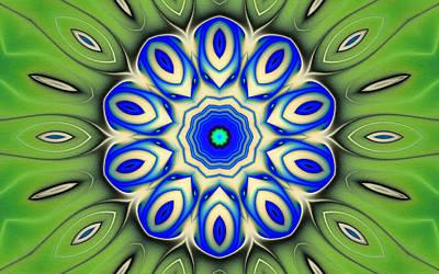 Kaledoscopic Patterns 7 Poster by Lanjee Chee