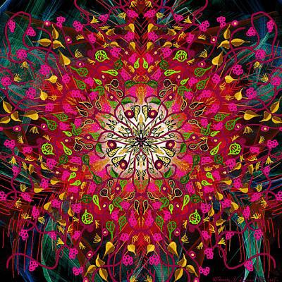 Kaleidoflower#7 Poster